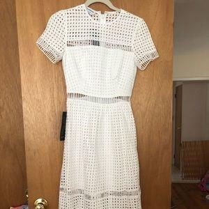 BEBE white dress size 00